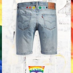 Levis 501 Shorts Pride / LGBT Collection